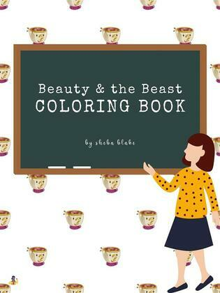 Beauty and the Beast Coloring Book for Kids Ages 3+ (Printable Version)