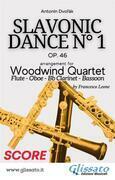 Slavonic Dance no.1 - Woodwind Quartet (Score)