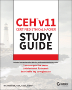 CEH v11 Certified Ethical Hacker Study Guide