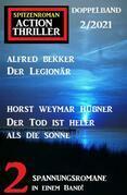 Spitzenroman Action Thriller Doppelband 2/2021