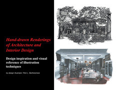 Hand-drawn Renderings of Architecture and Interior Design