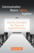 Communication Means Talking Together