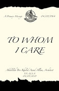 To Whom I Care
