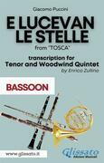 E lucevan le stelle - Tenor & Woodwind Quintet (Bassoon part)