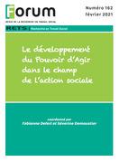 Forum 162 : Le développement du Pouvoir d'Agir dans le champ de l'action sociale