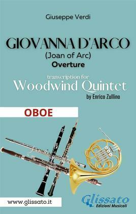 Giovanna d'Arco - Woodwind Quintet (OBOE)