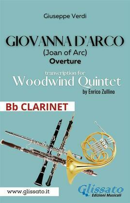 Giovanna d'Arco - Woodwind Quintet (Bb CLARINET)
