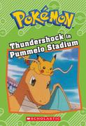 Thundershock in Pummelo Stadium (Pokémon: Chapter Book)