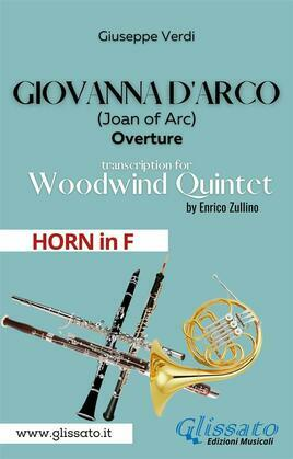 Giovanna d'Arco - Woodwind Quintet (HORN in F)