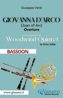 Giovanna d'Arco - Woodwind Quintet (BASSOON)