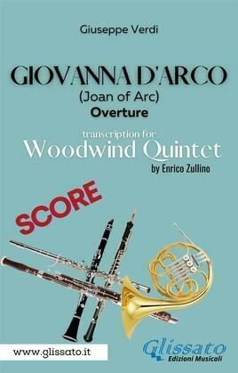 Giovanna d'Arco - Woodwind Quintet (SCORE)