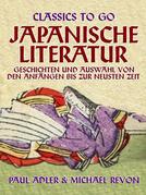 Japanische Literatur - Geschichten und Auswahl von den Anfängen bis zur neusten Zeit