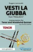 (Tenor part) Vesti la giubba - Tenor & Woodwind Quintet