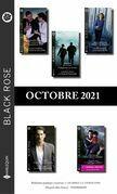 Pack mensuel Black Rose : 10 romans + 1 gratuit (Octobre 2021)