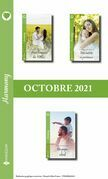 Pack mensuel Harmony : 3 romans (Octobre 2021)