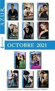 Pack mensuel Azur : 11 romans + 1 gratuit (Octobre 2021)
