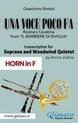 (Horn part) Una voce poco fa - Soprano & Woodwind Quintet