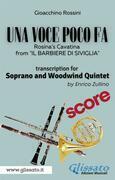 (Score) Una voce poco fa - Soprano & Woodwind Quintet
