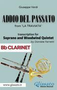 (Bb Clarinet) Addio del passato - Soprano & Woodwind Quintet