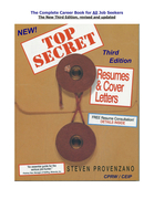 TOP SECRET Resumes & Cover Letters, the Second Edition Ebook for 2013