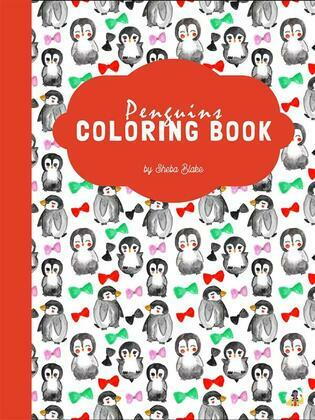 Cute Penguins Coloring Book for Kids Ages 3+ (Printable Version)