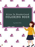 Alice in Wonderland Coloring Book for Kids Ages 3+ (Printable Version)