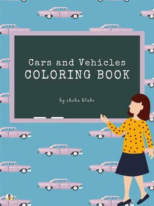 Cars and Vehicles Coloring Book for Teens (Printable Version)