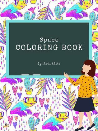Space Coloring Book for Teens (Printable Version)