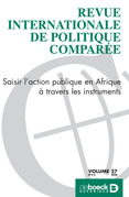 Revue internationale de politique comparée