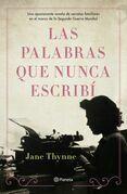 Las palabras que nunca escribí (Edición mexicana)