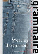 Wearing the trousers