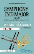(Flute) Symphony K 120 - Woodwind Quintet