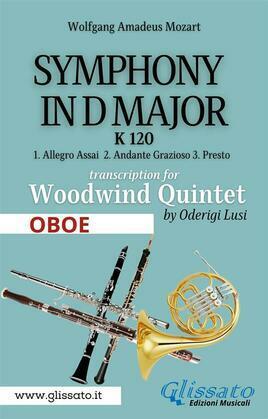 (Oboe) Symphony K 120 - Woodwind Quintet