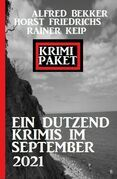 Krimi Paket Ein Dutzend Krimis im September 2021