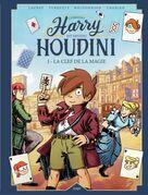 Harry Houdini - Tome 1 - La clé de la magie