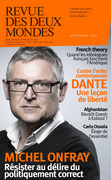 Revue des Deux Mondes septembre 2021 - French theory / Dante