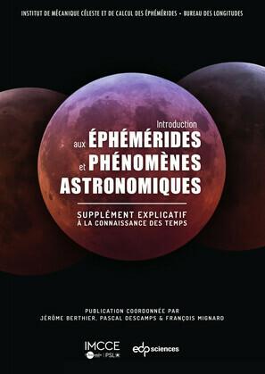 Introduction aux éphémérides et phénomènes astronomiques