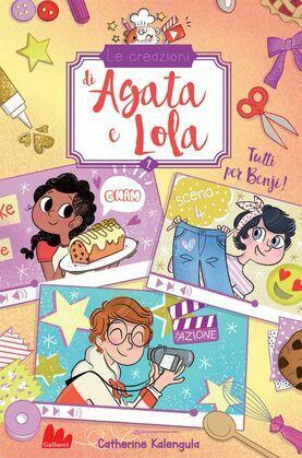Le creazioni di Agata e Lola. Tutti per Benji!
