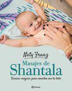 Masajes shantala para bebés