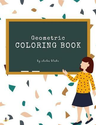 Geometric  Patterns Coloring Book for Teens (Printable Version)
