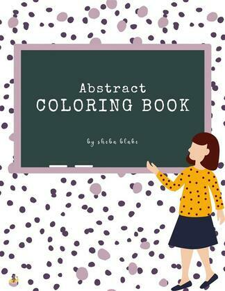 Abstract Patterns Coloring Book for Teens (Printable Version)