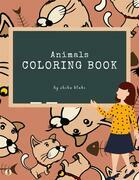 Animals Coloring Book for Kids Ages 3+ (Printable Version)