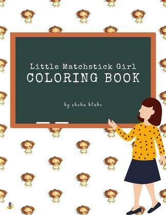 Little Matchstick Girl Coloring Book for Kids Ages 3+ (Printable Version)