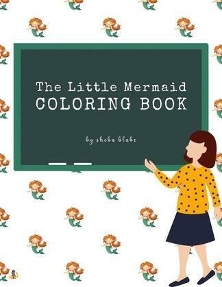 The Little Mermaid Coloring Book for Kids Ages 3+ (Printable Version)