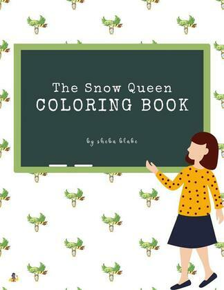 The Snow Queen Coloring Book for Kids Ages 3+ (Printable Version)