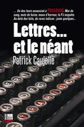 Lettres... et le néant