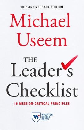 The Leader's Checklist,10th Anniversary Edition