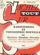 Radiesthésie et théosophie nouvelle