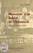 Mémoires d'un soldat de l'Infanterie