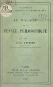 Le malaise de la pensée philosophique